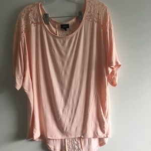 Pretty Top with Lace Size Medium